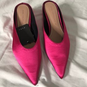 Pink Zara Mules